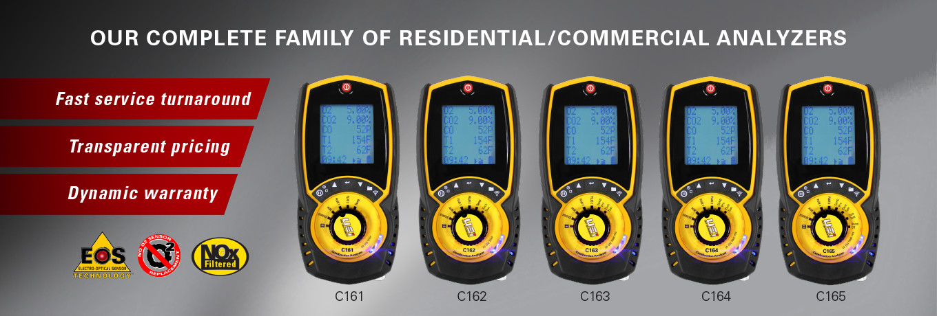 C160 Series Combustion Analyzers