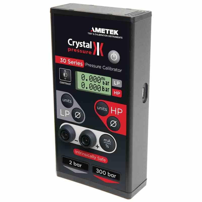 Crystal Pressure Calibrators