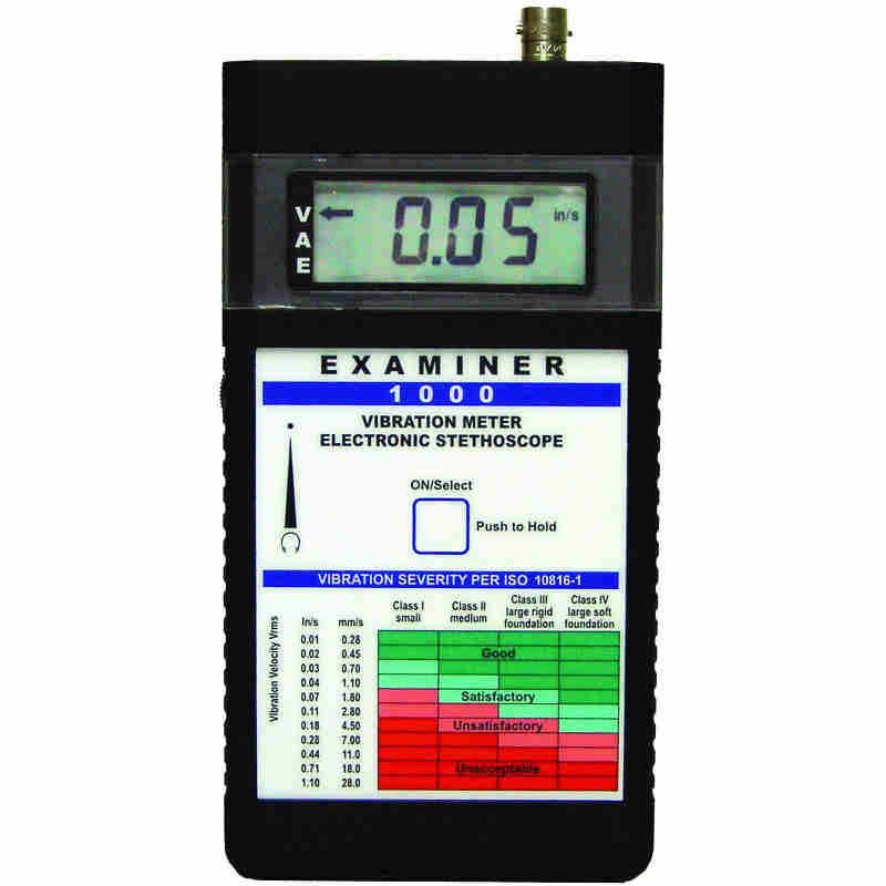 Monarch Vibration Meters