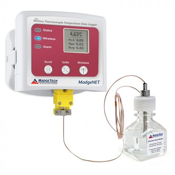 MadgeTech Vaccine Temperature Monitoring System (VTMS) Data Logger
