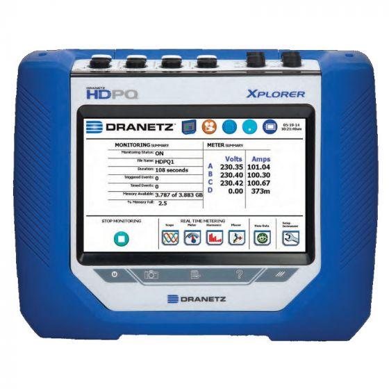 Dranetz HDPQ Xplorer Power Quality Analyzing Monitor