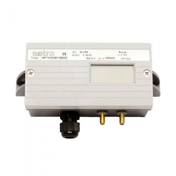 Setra 267 Low Differential Pressure Transducer