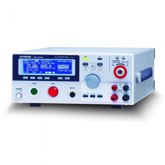 GW Instek GPT-9804 5000V AC - 6000V DC Hipot Tester and Safety Analyzer