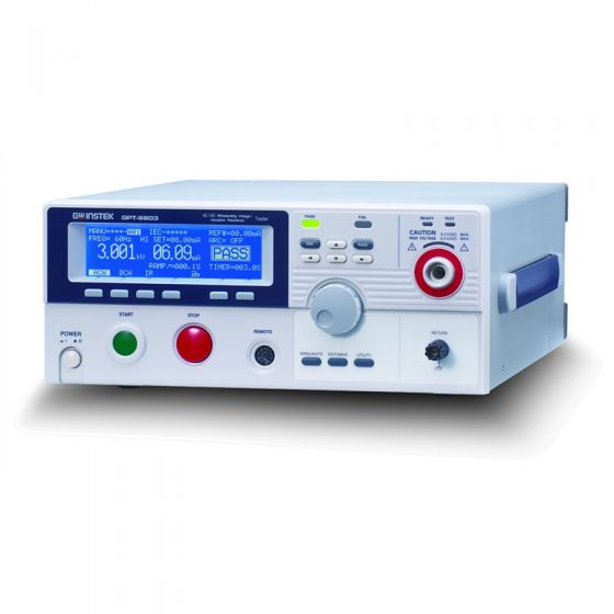 GW Instek GPT-9802 5000V AC - 6000V DC Hipot Tester and Safety Analyzer