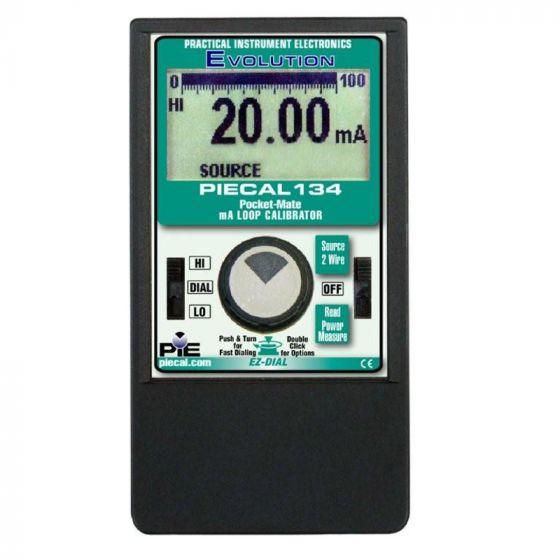 PIECAL Pocket-Cal 134 Milliamp Loop Calibrator - DISCONTINUED