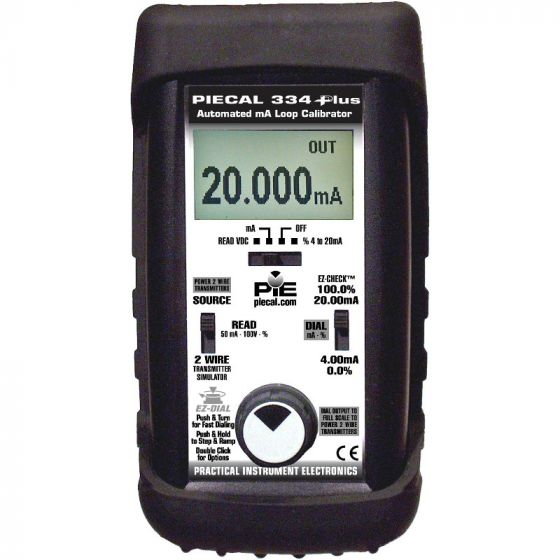 PIECAL 334Plus Milliamp Loop Diagnostic Calibrator