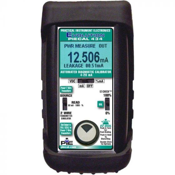 PIECAL 434 High Accuracy Milliamp Loop Diagnostic Calibrator