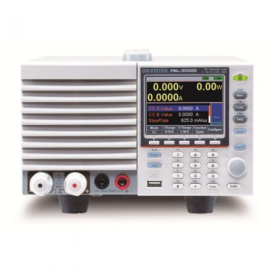 GW Instek PEL-3032E 300W Programmable Single Channel DC Electronic Load
