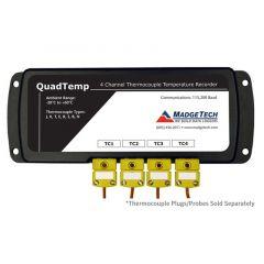 MadgeTech QuadTemp 4 Channel Thermocouple Data Logger - DISCONTINUED QUADTEMP