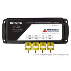 MadgeTech OctTemp 8 Channel Thermocouple Data Logger - DISCONTINUED OctTemp