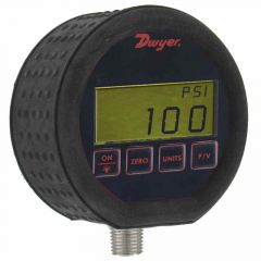 Dwyer DPG-100 Digital Pressure Gauge, Ranges from Vacuum to 5000 PSIG DPG