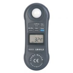 Reed Instruments LM-81LX Light Meter LM-81LX
