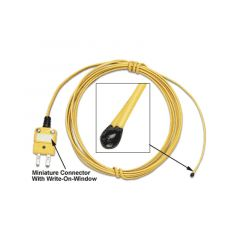 Newport Epoxy Coated Tip Bead Wire Thermocouple Sensor TC-PVC