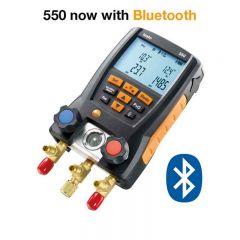 Testo 550-1 Basic Refrigeration System Analyzer - DISCONTINUED 0563 5505