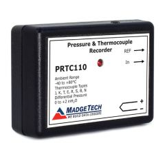 MadgeTech PRTC110 Differential Pressure and Thermocouple Temperature Data Logger PRTC110