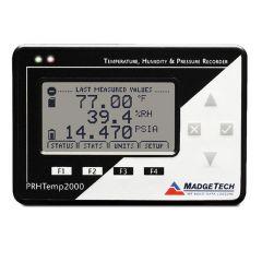 MadgeTech PRHTemp2000 Pressure, Humidity & Temperature Data Logger with LCD Display PRHTemp2000