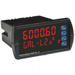 Precision Digital ProVu PD6000-6R 265 VAC Dual-Line 6-Digit Process Meter PD6000-6R
