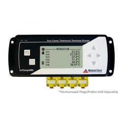 MadgeTech OctTemp2000 8 Channel Thermocouple Temperature Data Logger with LCD - DISCONTINUED OctTemp2000