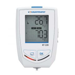 Sauermann KT220O 25234 Multi-Function Temperature Data Logger with Display 25495