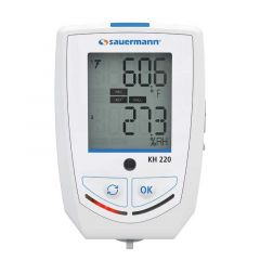 Sauermann KH220O 25497 Multi-Function Temperature RH & Lux Data Logger with Display 25497