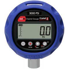 Crystal Engineering m1M 3000 PSIG Digital Pressure Gauge M1M-3KPSI