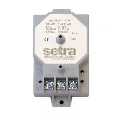 Setra 265 Low Differential Pressure Transducer 2651