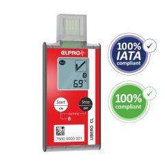 ELPRO LIBERO CL Bluetooth USB PDF Data Logger with Internal Temperature Probe 802280