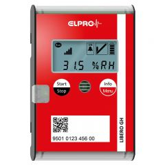 ELPRO LIBERO GH Wireless Real-Time Data Logger with Internal Temperature & Humidity Sensor 802328