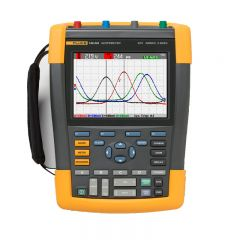 Fluke 190 Series II 100 MHz 4 Channel Color Hand Held Oscilloscope FLUKE-190-104/AM