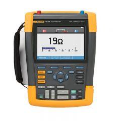 Fluke 190 Series II 200 MHz 2 Channel Color Hand Held Oscilloscope FLUKE-190-202/AM
