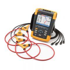 Fluke 437-II Series II 400Hz Power Quality and Energy Analyzer with Current Probes FLUKE-437-II