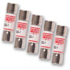 Fluke 1A 600V Fuses 5 Pack 871207