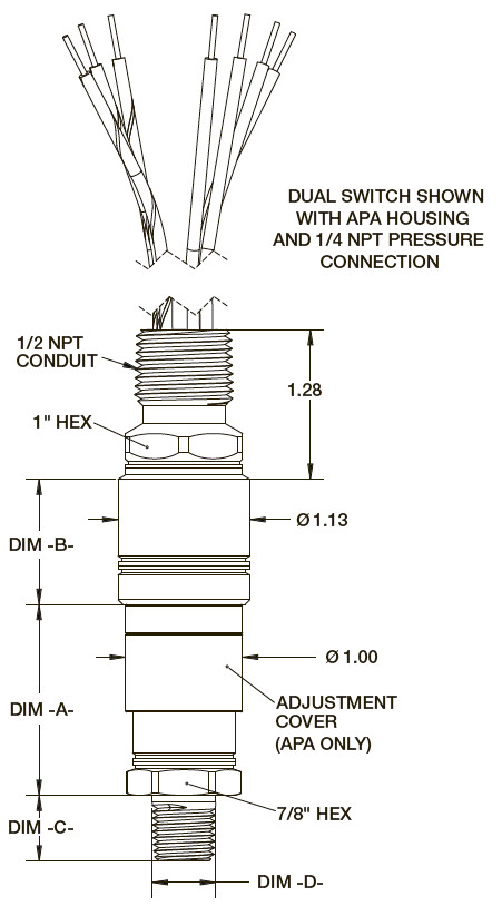 Ashcroft a series miniature explosion proof pressure switch data sheet resources asfbconference2016 Images
