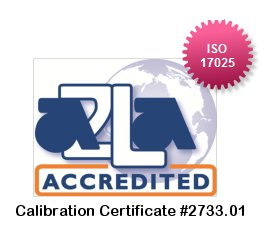 Instrumentation2000.com A2LA Accredited Logo
