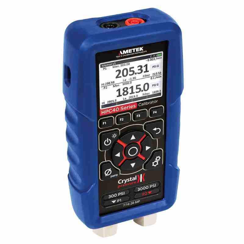 Crystal Engineering HPC40 Series Dual Range (HPC42) Pressure Calibrator
