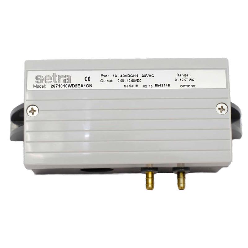 Setra 267MR Multi-Range Low Differential Pressure Transducer